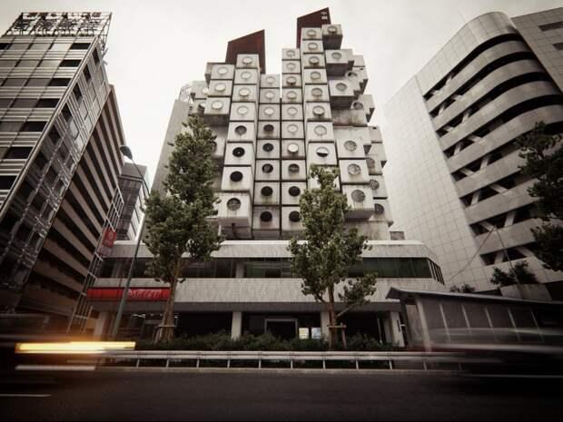 Nakagin Capsule Tower, или Жизнь на 9 квадратных метрах