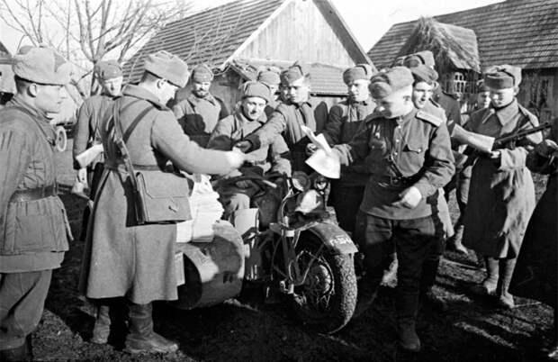Мотоциклы Harley-Davidson WLA в Красной армии; ~ 1943-1945-й Harley-Davidson WLA, война, мотоцикл