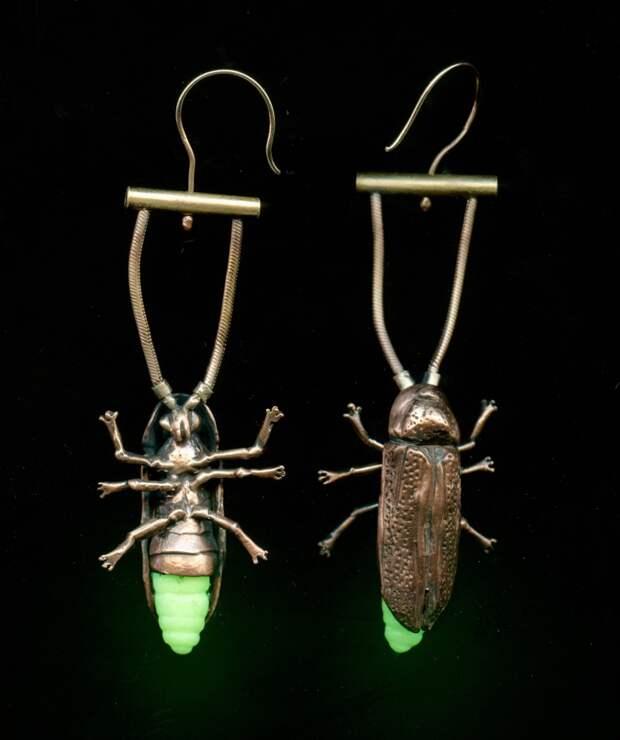 Украшения с насекомыми