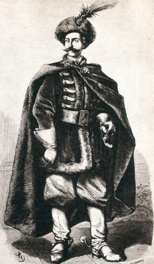 Сарматская теория происхождения шляхты дала в своё время в Польше моду на всё восточное, так что по одежде порой трудно было отличить поляка от турка.