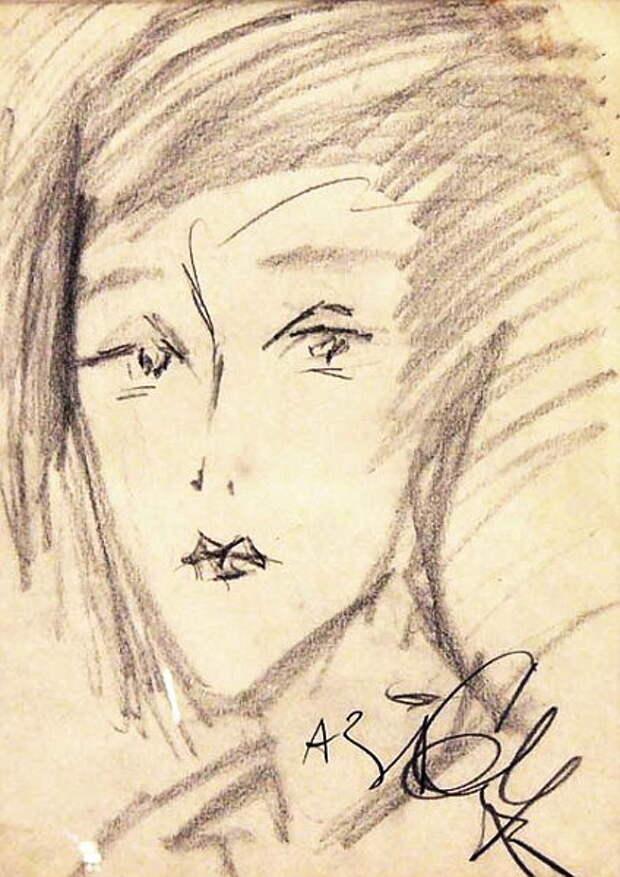 1964 Женский портрет (424x600, 80Kb)
