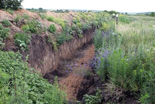 Харьковская область отгородилась от России четырехметровым рвом