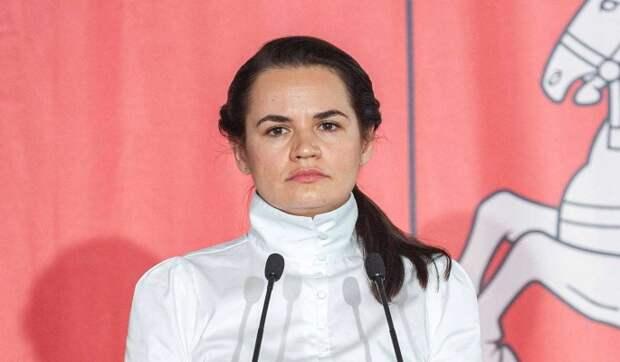 Тихановская попросила ЕС помочь ей безопасно вернуться в Белоруссию