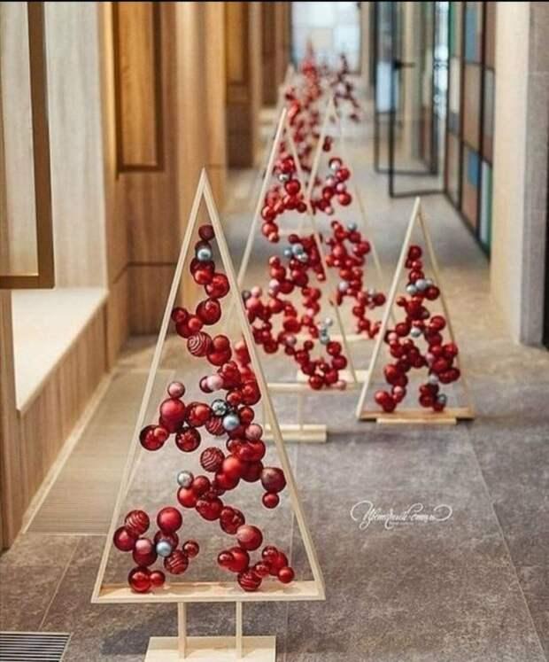треугольники с шарами внутри