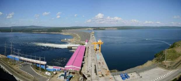 Богучанская ГЭС установила рекорд выработки в 1 квартале