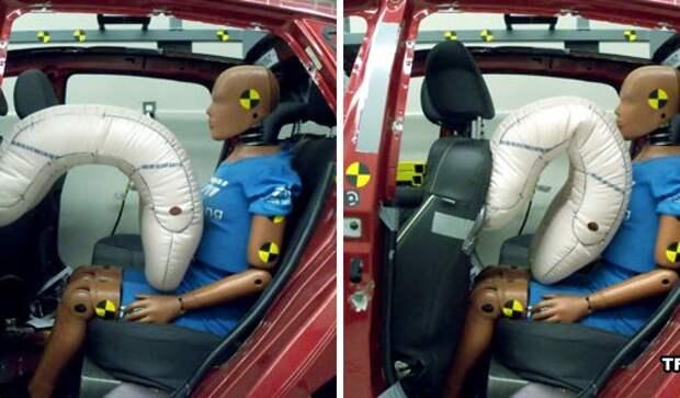 TRW создала подушки безопасности для заднего сиденья
