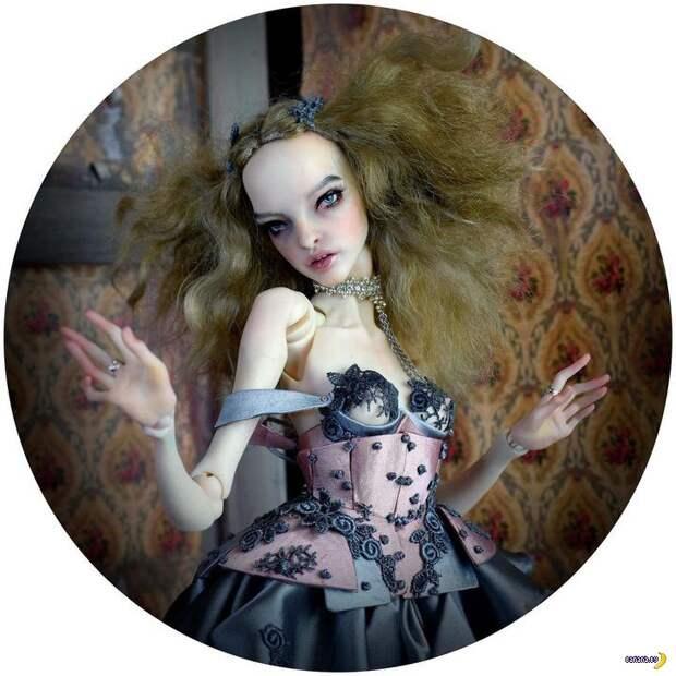 Измождённые кокаином куклы