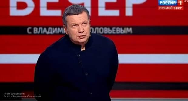 Соловьев резко отказал Гордону и «сотне генералам» украинских спецслужб в интервью