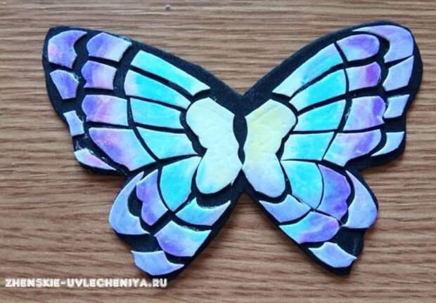 Бабочка из фоамирана