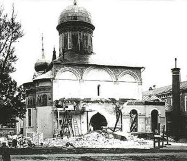 Реставрация Троицкого собора. 1925 г.