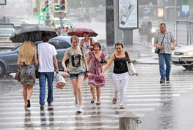 Жителям центральной России пообещали дожди до конца июля