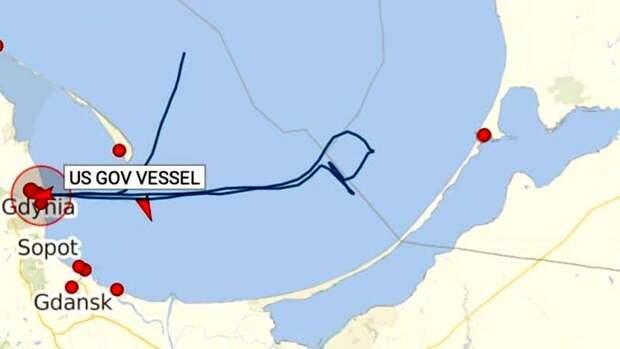 В Сети обсуждают новое нарушение границ России американским эсминцем