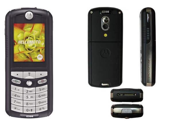 6.  Motorola E398 (2004, $340) история, телефон, факты