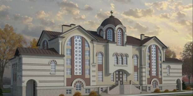 Храм на Большой Академической достроят  в 2022 году