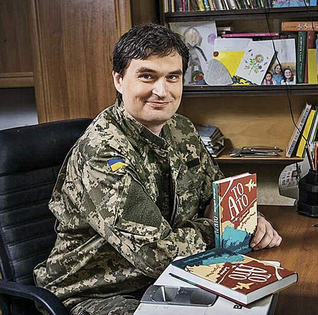 Автор книги «То АТО. Дневник добровольца» Дмитрий Якорнов. Фото: facebook.com