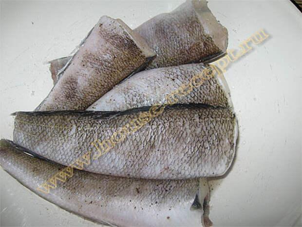 Вот так подготовили рыбу