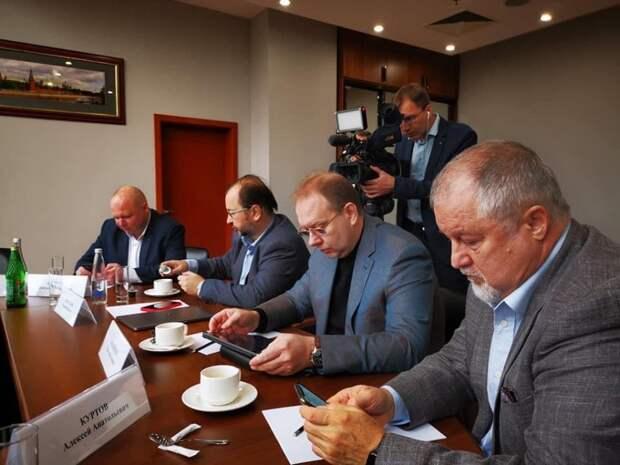 Поучаствовал в интересном формате общения с губернатором Ставропольского края В. Владимировым