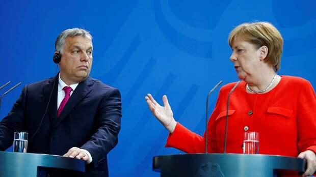 Орбан и Меркель
