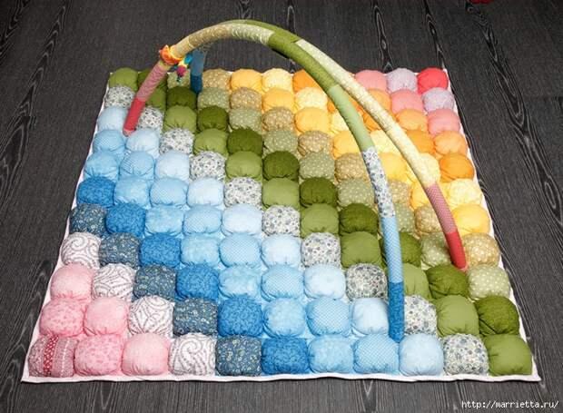 сшить детское одеяло или коврик (4) (700x513, 384Kb)
