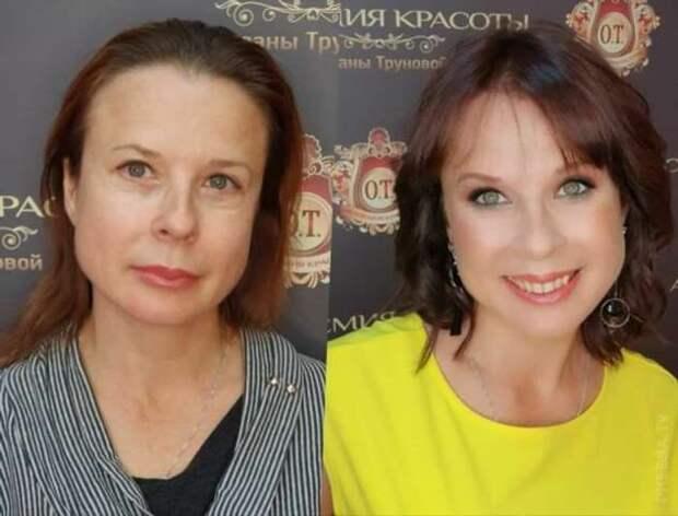 Преображение женщин: фотографии до и после