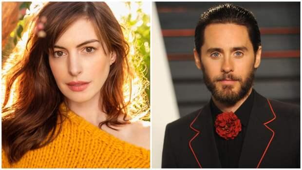 Джаред Лето и Энн Хэтэуэй составят супружескую пару в сериале Apple TV+