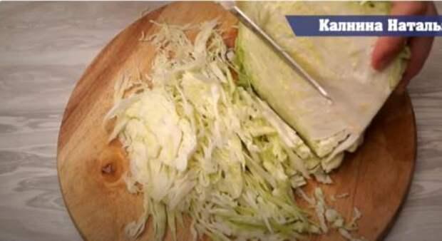 Открыла для себя новый рецепт капусты в пакете, вкуснее, чем жареная и проще готовится: все смешали и забыли