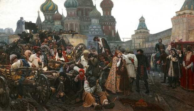 Петр I. Московская Голгофа