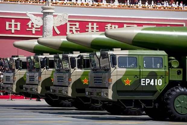 Китай запустил «убийц авианосцев» США после вторжения в его запрещенную зону