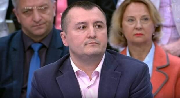 Украинец Запорожский проговорился в студии «Время покажет» о российском паспорте