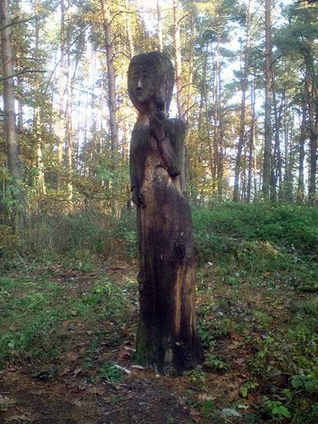 Современный идол в Чехии.