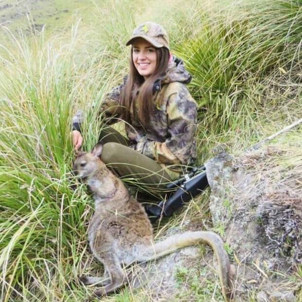 Охота — любимое хобби девушки из Новой Зеландии