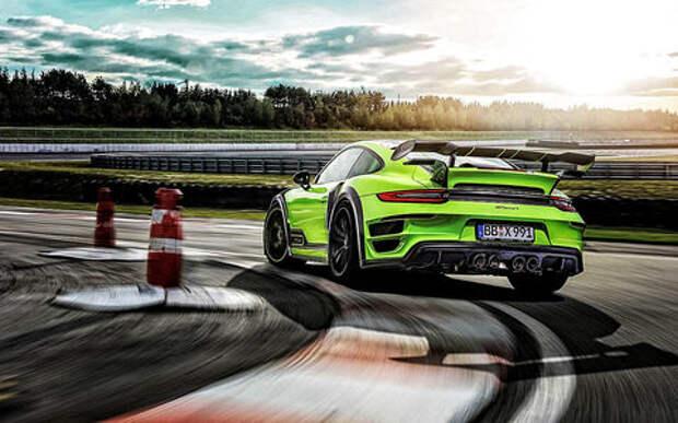 Только красивые машины: календарь Techart