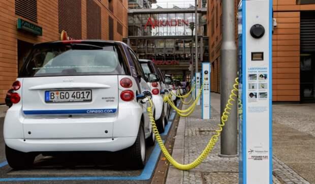 Электрокары въезжают нарынок Европы соскрипом