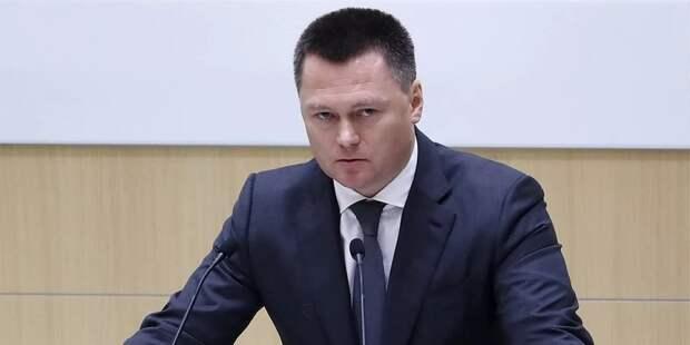 Краснов доложит Совфеду о работе Генпрокуратуры