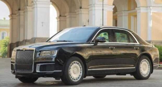 В России открыт предзаказ на лимузины Aurus Senat, как у Путина