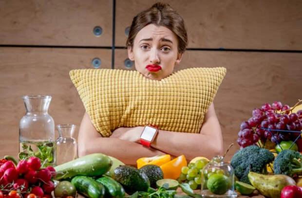 Какая еда вызывает депрессию?