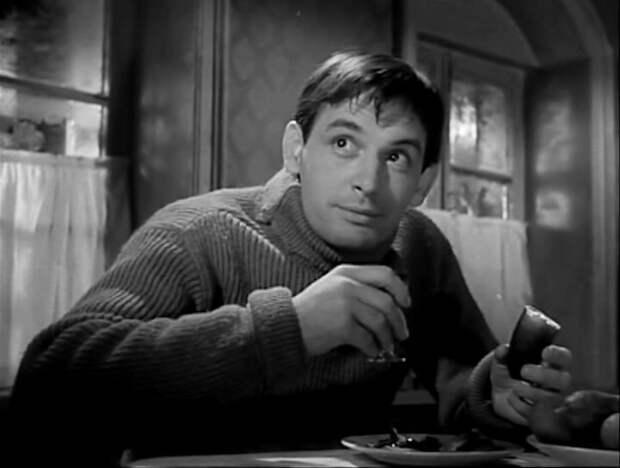 """Реальный образ у актёра как-то приятнее. Кадр из фильма """"Коллеги"""", 1962 год."""