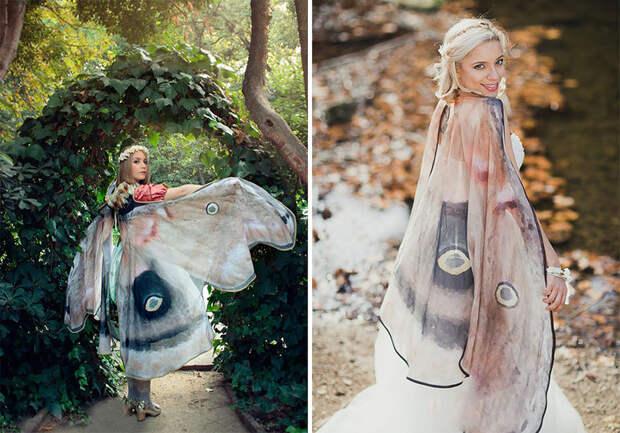 Потрясающие расписанные вручную платки, которые подарят вам крылья бабочки за спиной