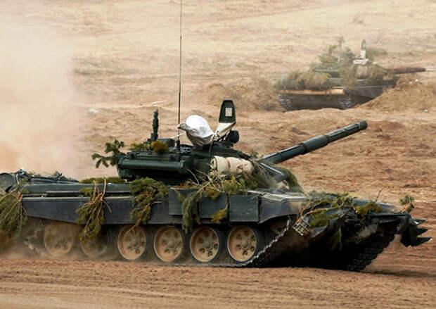 Более 2 тысяч военнослужащих ВВО на полигонах в Бурятии сдают экзамен за зимний период обучения