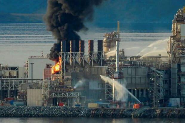 СПГ-завод Hammerfest надолго вышел из строя после пожара