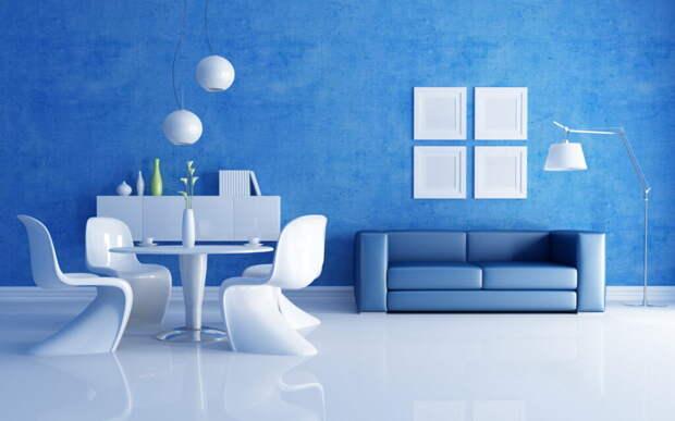 Как с помощью цвета визуально изменить комнату