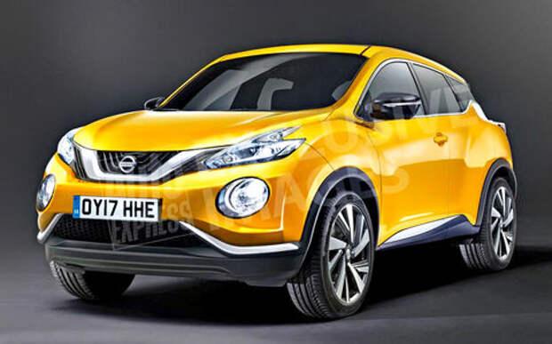 Nissan Juke второго поколения будет представлен в этом году