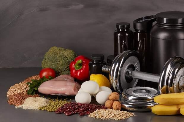 Продукты с белком для роста мышц