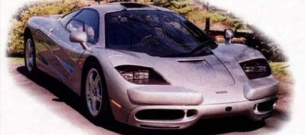 McLaren F1 авто, автодизайн, америка, бампер, безопасность, накладка, спорткар, суперкар