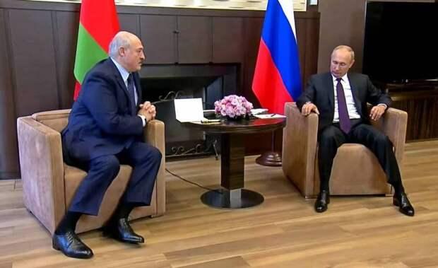 Почему на Западе считают, что Путин проиграл в Беларуси