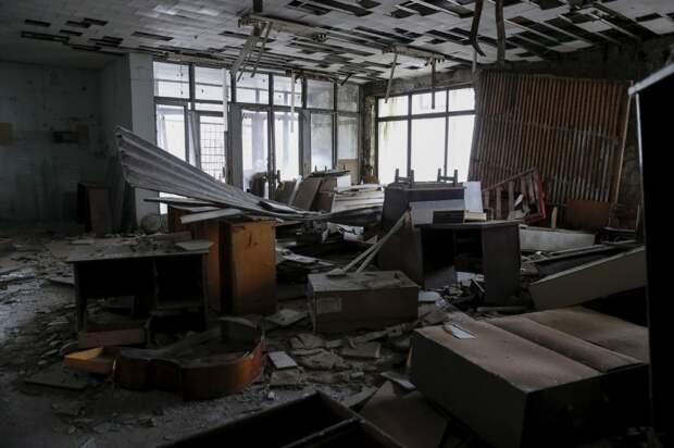 Свежие кадры из Чернобыля