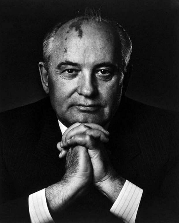 Mikhail Gorbachev by Yousuf Karsh