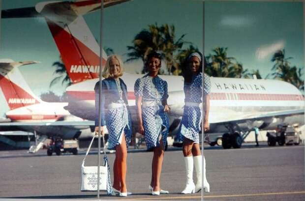 Стюардессы 60х—70х годов