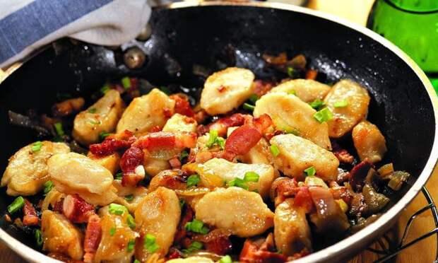 Рецепты по четвергам. Клёцки, ньокки, галушки, вареники. Галушки (3)