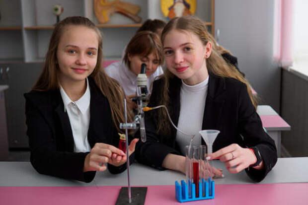 Семиклассники Усть-Лабинского лицея прошли практический интенсив по физике, химии и биологии